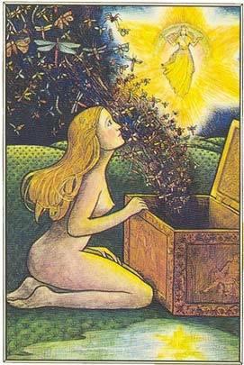 """Pandora, quando abre sua """"caixa""""."""
