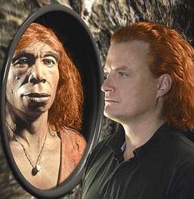 neandertal espelho