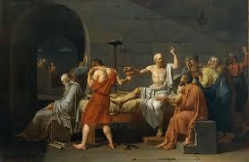 Quadro; A morte de Sócrates