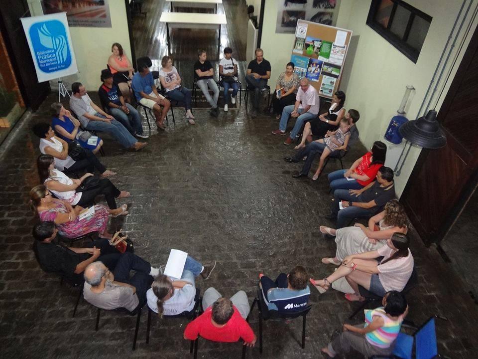 Autor convidado - Ciranda Literária de Jaraguá do Sul - 26/02/2014