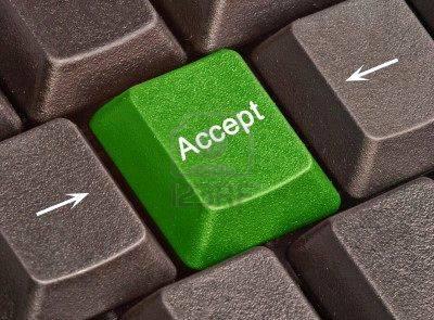 aceitação
